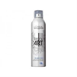"""Спрей """"L'Oreal Professional Tecni.art Fix Anti-Frizz"""" 250мл Сильной Фиксации с Защитой от Влаги (фикс.4) - фото 10608"""