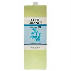 Lebel Cool Orange Hair Soap Ultra Cool - Шампунь для волос «Ультра Холодный Апельсин» 1600мл - фото 10628