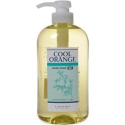 "Шампунь ""Lebel Cool Orange Hair Soap Super Cool Супер Холодный Апельсин"" 600мл для волос - фото 10629"
