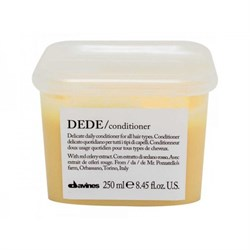 """Кондиционер """"Davines Essential Haircare DEDE Conditioner delicate"""" 250мл для волос деликатный - фото 10662"""