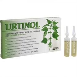 DIKSON AMPOULE URITINOL - Тонизирующее противосеборейное ампульное средство с экстрактом крапивы для жирной кожи головы 10 х 10мл - фото 10663