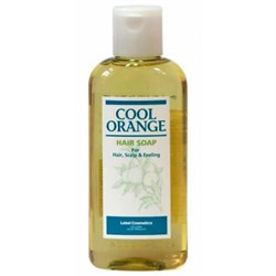 "Шампунь ""Lebel Cool Orange Hair Soap Cool Холодный Апельсин"" 200мл для волос - фото 10727"