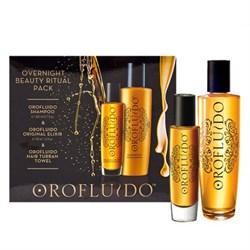 Orofluido Overnight Beauty Ritual Set - Набор для интенсивного ухода 200 мл+50 мл - фото 10760