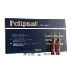 DIKSON AMPOULE Polipant Complex - Уникальный биологический ампульный препарат с протеинами, плацентарными экстрактами для лечения выпадения волос 12 х 10мл - фото 10791