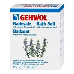 Gehwol Bath Salt - Соль для ванны с розмарином 10*250 гр - фото 10955