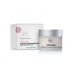 "Ночной крем ""Holy Land Vitalise Overnight Moisturizer Cream With Hyaluronic Acid увлажняющий"" 50мл - фото 11033"