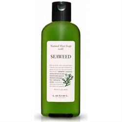 "Шампунь ""Lebel Natural Hair Soap Treatment Seaweed"" 240мл с морскими водорослями - фото 11236"