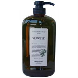"Шампунь ""Lebel Natural Hair Soap Treatment Seaweed"" 1000мл с морскими водорослями - фото 11334"