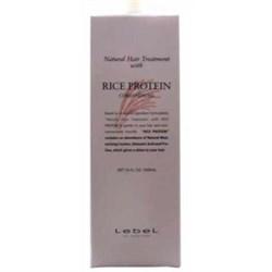 "Маска ""Lebel Natural Hair Soap Treatment Rice Protein"" 1600мл для волос кондиционирующая - фото 11336"