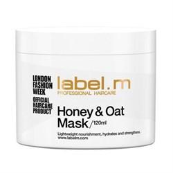 """Label.M - Питательная маска """"Мед и Овес"""" для сухих и обезвоженных волос, 750мл - фото 11358"""