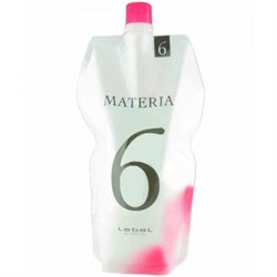 Lebel Materia Oxy 6% - Оксидант для смешивания с краской Materia 1000 мл - фото 11494