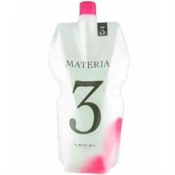 Lebel Materia Oxy 3% - Оксидант для смешивания с краской Materia 1000 мл - фото 11496