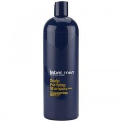 label.men Scalp Purifying Shampoo - Шампунь для Очищения Кожи Головы 1000 мл - фото 11600