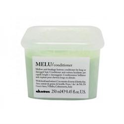 """Кондиционер """"Davines Essential Haircare Melu Anti-breakage shine conditioner with apricot butter"""" 250мл для длинных или поврежденных волос с маслом абрикосовых косточек - фото 12432"""