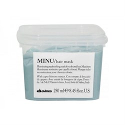 "Маска ""Davines Essential Haircare MINU Hair Mask восстанавливающая"" 250мл для окрашенных волос - фото 12438"