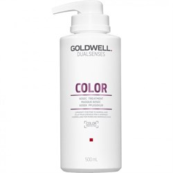 Goldwell Dualsenses Color 60SEC Treatment - Уход за 60 секунд для блеска окрашенных волос 500мл - фото 12501