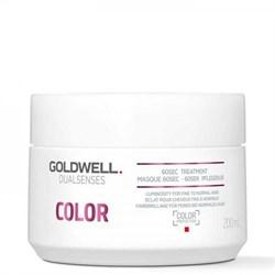 Goldwell Dualsenses Color 60SEC Treatment - Уход за 60 секунд для блеска окрашенных волос 200мл - фото 12502
