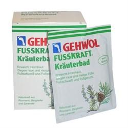 Gehwol Fusskraft Herbal Bath - Травяная ванна 10*200 гр - фото 12541