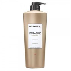 """Шампунь """"Goldwell Kerasilk Premium Control Shampoo"""" для непослушных и пушащихся волос - фото 12564"""