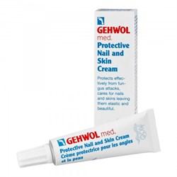 "Крем ""Gehwol Med Protective Nail and Skin Cream"" 15мл для защиты ногтей и кожи - фото 12599"
