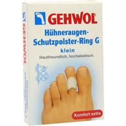 """Гель-кольцо """"Gehwol Huhneraugen Schutzpolster Ring G -защитное"""" 3шт с уплотнением для пальцев ног - фото 12661"""