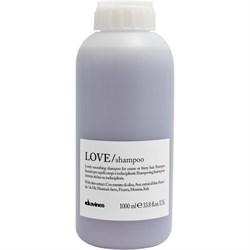 "Шампунь разглаживающий завиток ""Davines Essential Haircare LOVE Lovely smoothing shampoo"" 1000мл - фото 12697"