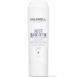 """Кондиционер """"Goldwell Dualsenses Just Smooth Taming Conditioner"""" усмиряющий для непослушных волос - фото 12713"""