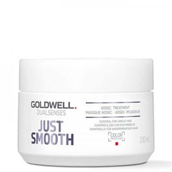 Goldwell Dualsenses Just Smooth 60SEC Treatment - Интенсивный уход за 60 секунд для непослушных волос 200мл - фото 12716