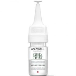 """Сыворотка """"Goldwell Dualsenses Curly Twist Intensive Hydrating Serum интенсивная увлажняющая"""" 1 х 18мл для вьющихся волос - фото 12730"""