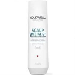 """Шампунь """"Goldwell Dualsenses Scalp Specialist Deep Cleansing Shampoo"""" 250мл для глубокого очищения - фото 12740"""