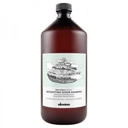 "Шампунь-скраб ""Davines New Natural Tech Detoxifying scrub Shampoo"" 1000мл детоксирующий - фото 12801"