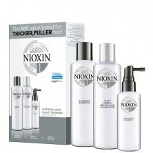 Nioxin System 1 Kit - Ниоксин набор (Система 1) 150 мл+150 мл+50 мл - фото 17259