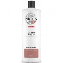 Nioxin Cleanser System 3 - Ниоксин очищающий шампунь (Система 3) 1000 мл - фото 17270