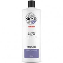 Nioxin Cleanser System 5 - Ниоксин очищающий шампунь (Система 5) 1000 мл - фото 17279