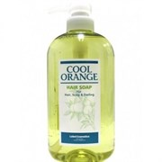 "Шампунь ""Lebel Cool Orange Hair Soap Cool Холодный Апельсин"" 600мл для волос"