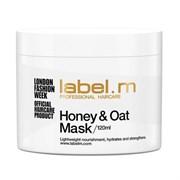 """Label.M - Питательная маска """"Мед и Овес"""" для сухих и обезвоженных волос, 750мл"""