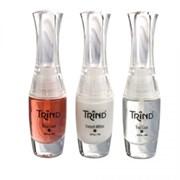 Trind French Manicure Set - Набор для французского маникюра (прозрачно-красный) 3*9 мл