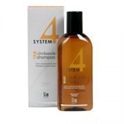 Sim Sensitive System 4 Therapeutic Climbazole Shampoo 2 Терапевтический шампунь No 2 для сухих поврежденных и окрашенных волос 500 мл