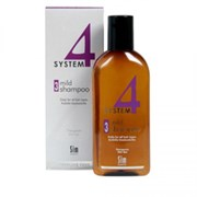 """Терапевтический Шампунь """"Sim Sensitive System 4 Therapeutic Climbazole Shampoo № 3"""" 500мл для профилактического применения для всех типов волос"""