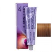 """Крем-краска """"Wella Professionals Illumina Color 7/35 Блонд золотисто махагоновый"""" 60мл стойкая"""