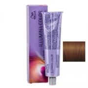 """Крем-краска """"Wella Professionals Illumina Color 5/35 Светло коричневый золотисто махагоновый"""" 60мл стойкая"""