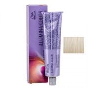 """Крем-краска """"Wella Professionals Illumina Color 10/69 Яркий блонд фиолетовый сандре"""" 60мл стойкая"""