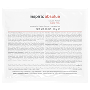 "Скраб ""Inspira Cosmetics inspira:absolue Double Action Super Peel энзимный 2-в-1"" 10 х 30гр"