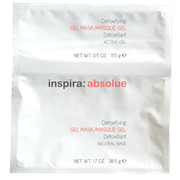 "Гель-маска ""Inspira Cosmetics inspira:absolue Detoxifying Mask with Active Charcoal & Mint детоксицирующая моделирующая гидро"" 5 х 50гр"