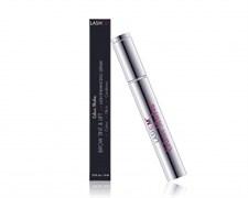 Colour Strokes Brow Tint & Lift with Lash Enhancing Serum -  Raven-Тушь для бровей на основе сыворотки для роста с пептидами / Цветные штрихи / Глубокий черный, 6 мл
