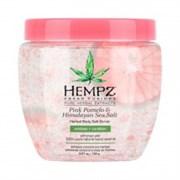 Скраб для тела Помело и Гималайская соль / Pink Pomelo & Himalayan Sea Salt Herbal Body Salt Scrub 155 гр