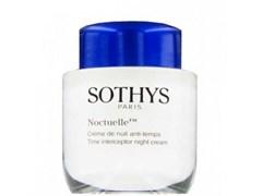 SOTHYS Аnti-Age Noctuelle Time Interceptor Night Cream - Сотис Антивозрастной Ночной Крем 50мл