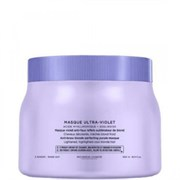 Kerastase BLOND ABSOLU Masque Ultra-Violet - Маска фиолетовая, нейтрализующая желтые полутона 500мл