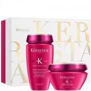 Kerastase REFLECTION Set - Подарочный набор (Шампунь для защиты окрашенных или мелированных волос + Маска для защиты густых окрашенных или осветленных волос) 250 + 200мл